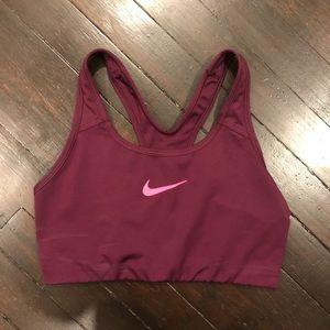 Purple / Pink Nike Pro Sports Bra